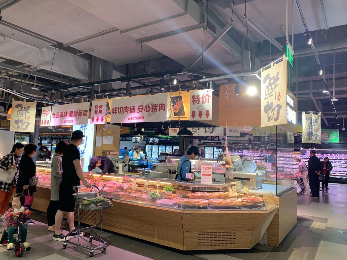 如何跟街坊市場搶生意?盒馬菜市佈局全解析