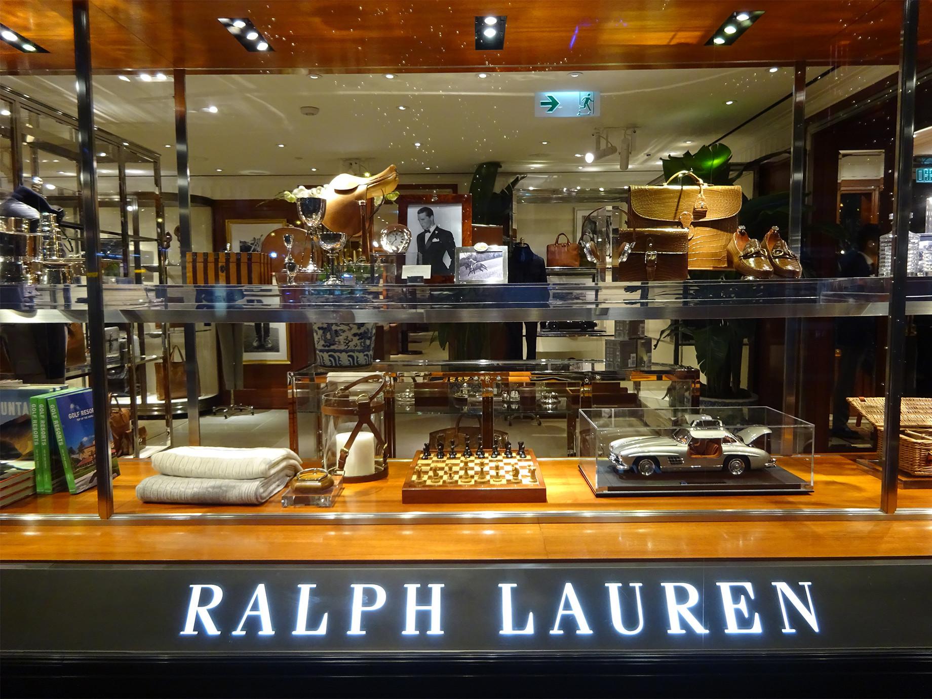 要關50間門市,美服飾Ralph Lauren瘦身做電商