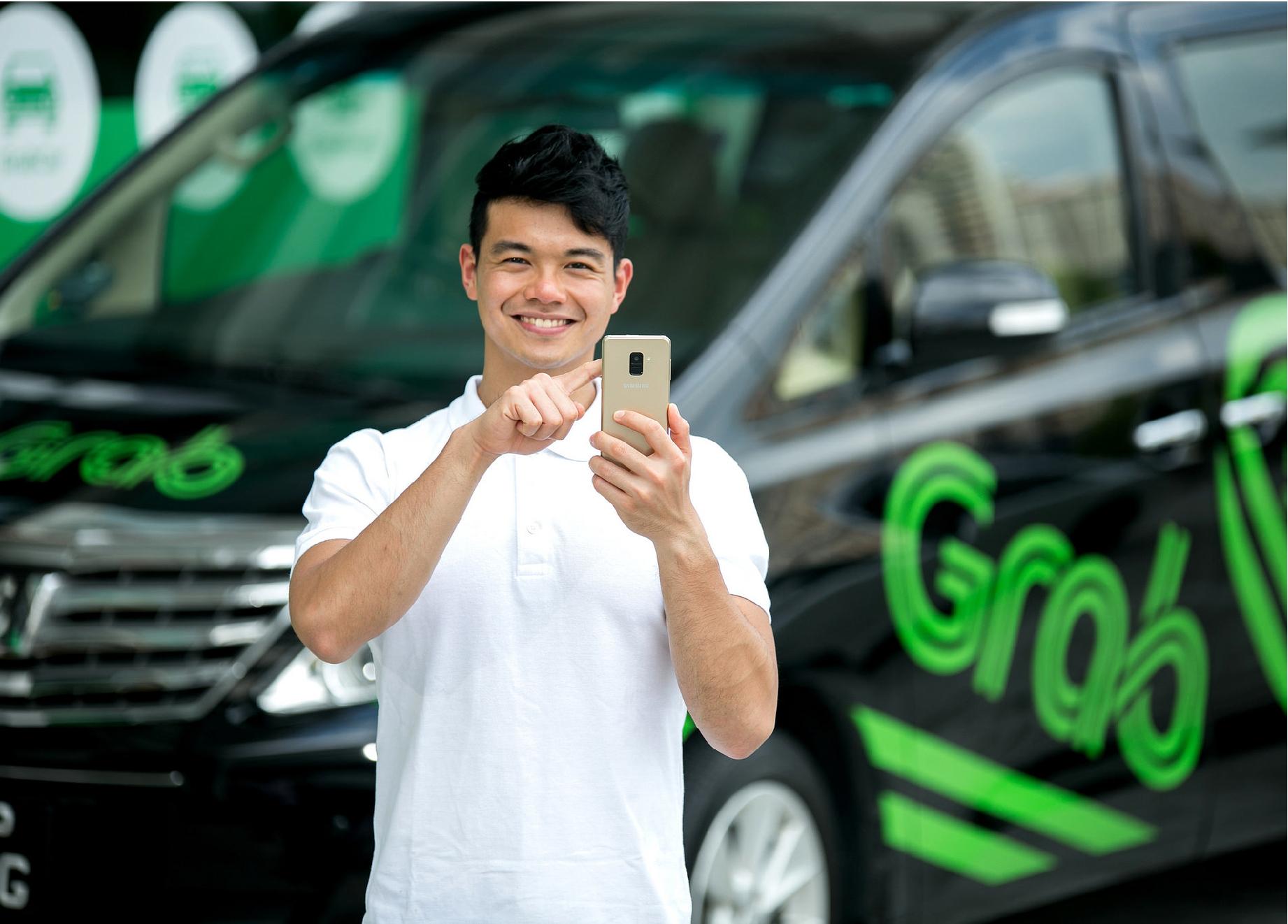 不只是叫車!新加坡叫車平台 Grab 迎戰亞馬遜,推配送服務