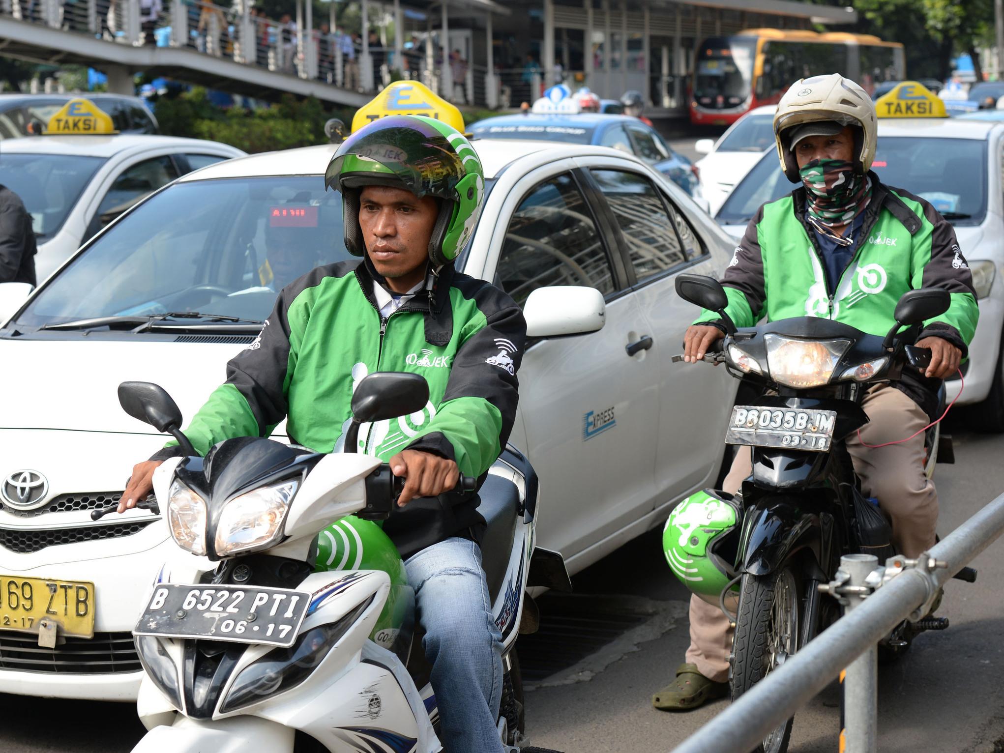 騰訊加入東南亞出行大戰!看準印尼摩托車叫車App Go-Jek