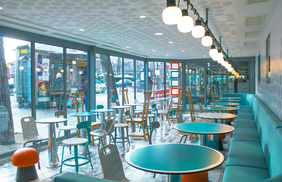 巴黎最藝術的「麥當勞」,讓30年老店變身藝文速食空間