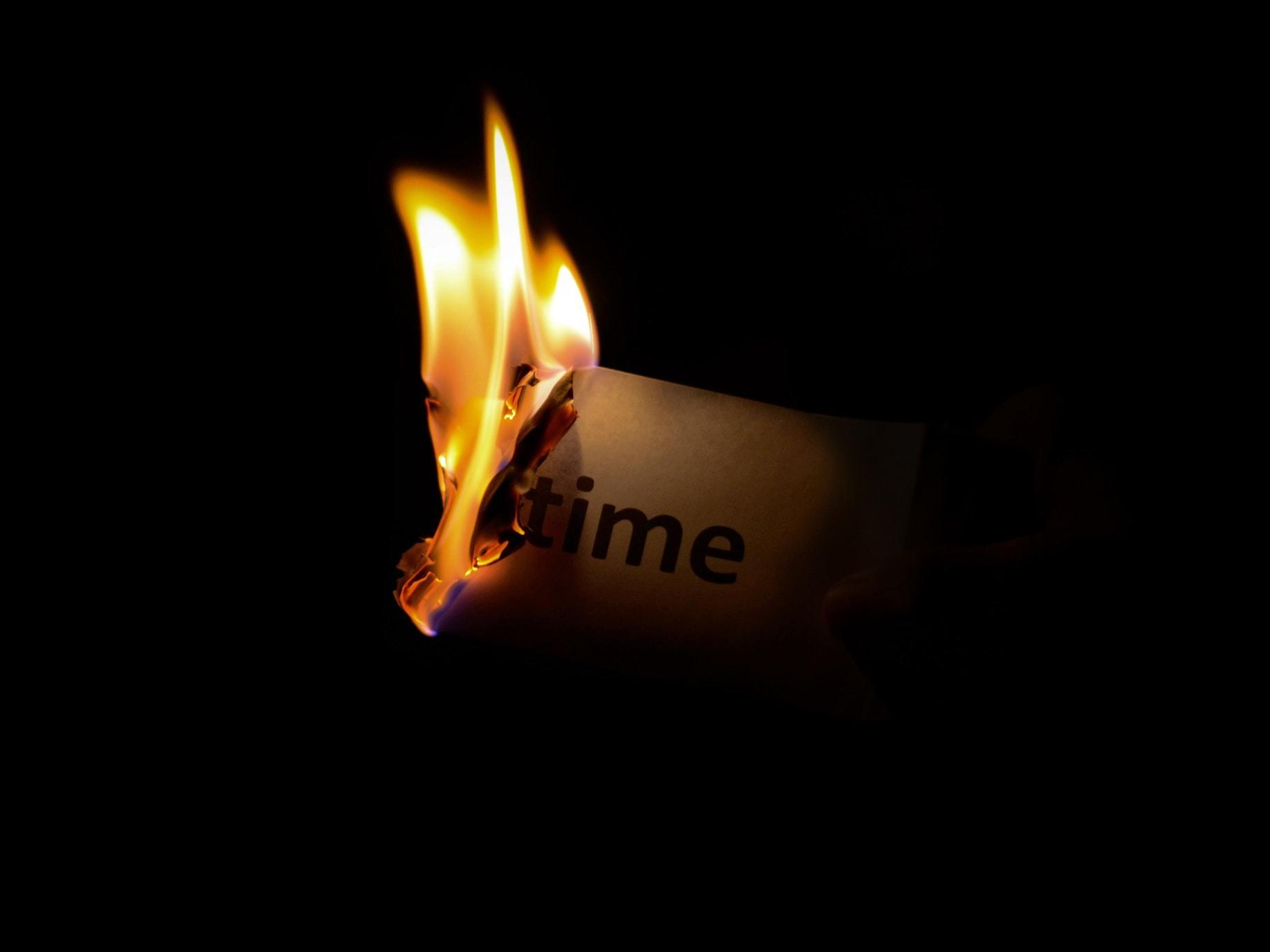 時間是重要的資產,別讓他人侵犯到你的時間