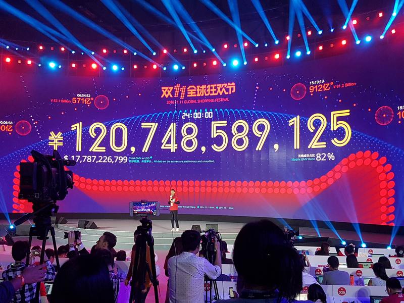 天貓雙11驚人數字背後的祕密》全球電商爆買狂歡日,馬雲驚險過關