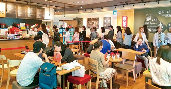 售價不輸星巴克!「貢茶」用3大在地化策略,在韓國異軍突起