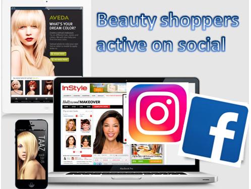 美妝購物者活躍在各大社群,尋求購物靈感及建議