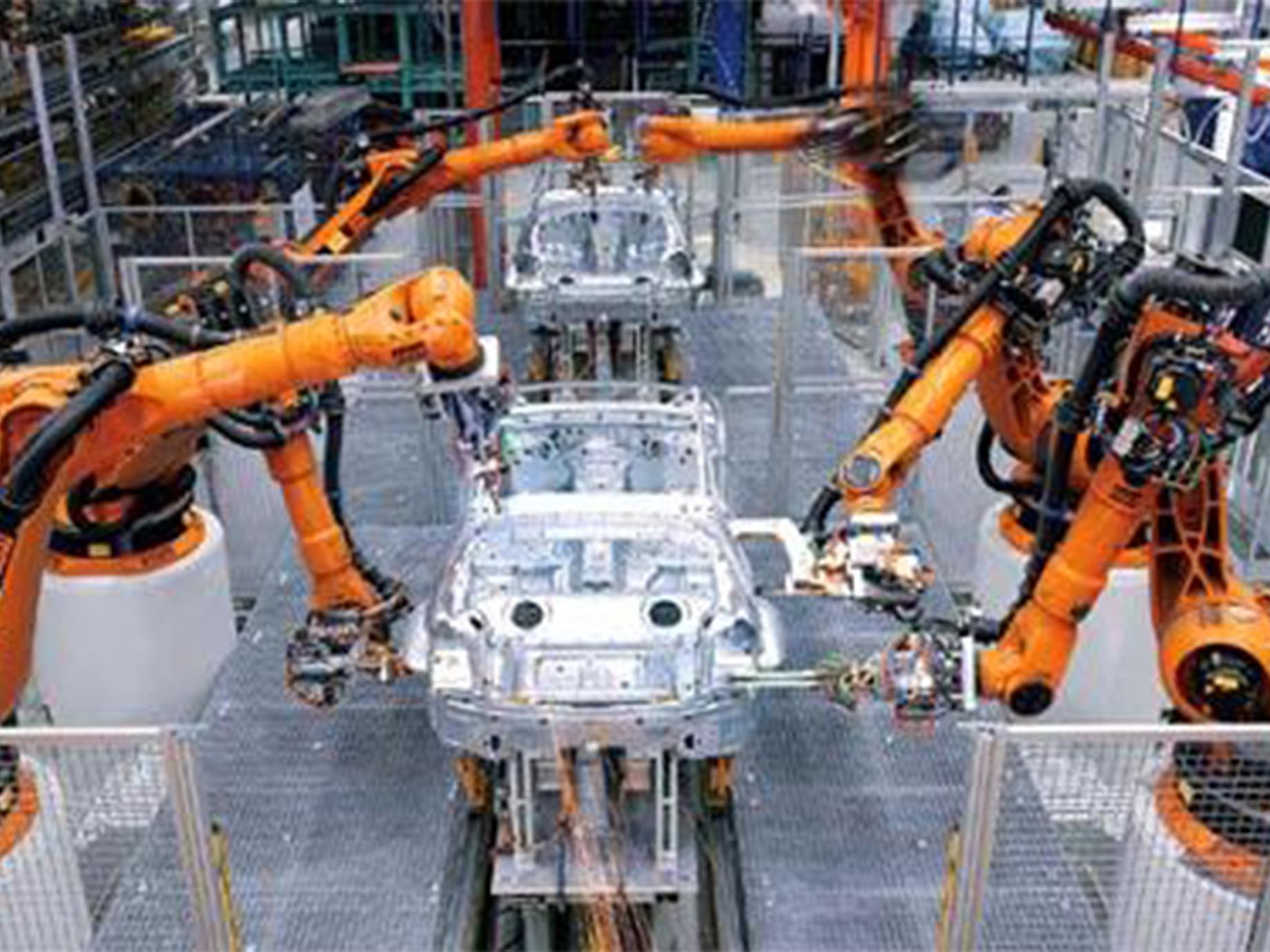 智慧關燈五廠、擁六萬機器人,鴻海攻工業物聯網