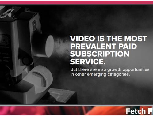 付費還是忍受廣告?訂閱式服務的發展趨勢