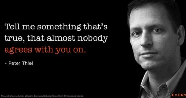 Peter Thiel來台旋風,你知道他每年提供300萬給輟學生創業?