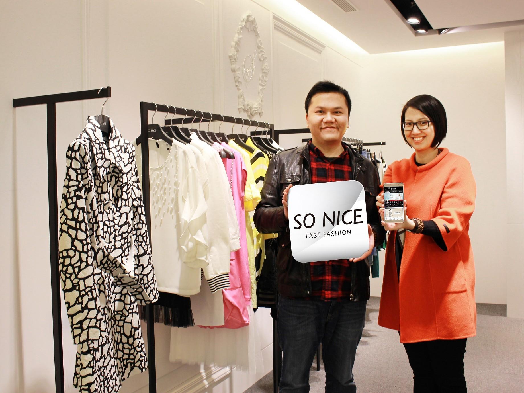 台灣快時尚SO NICE,切入行動電商,帶來4成新客、創4倍業績