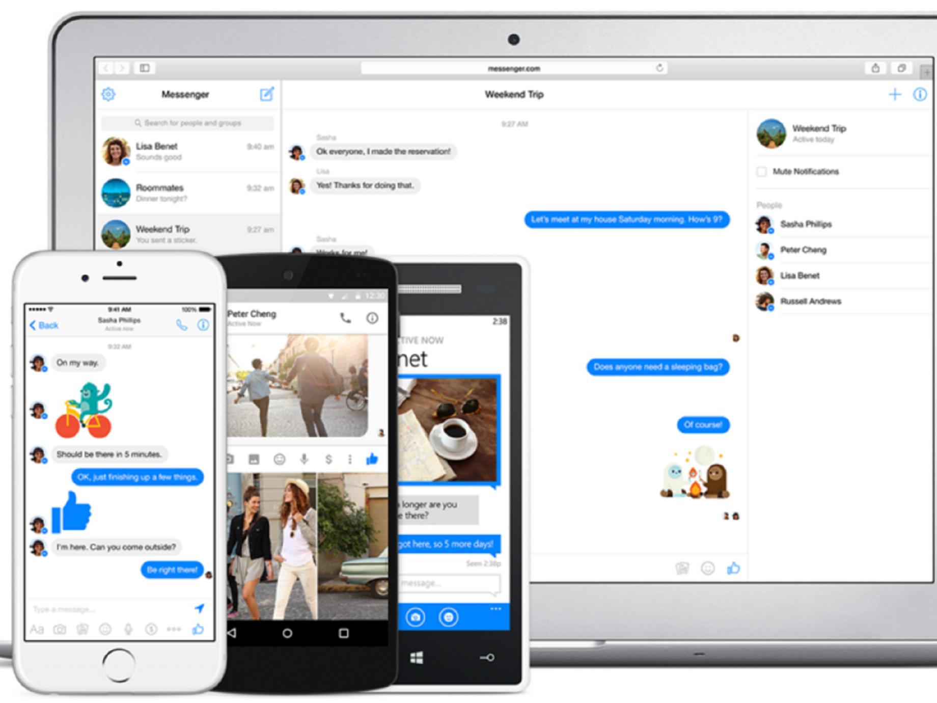 八億活用人次的Facebook Messenger的,新的一年想做什麼?