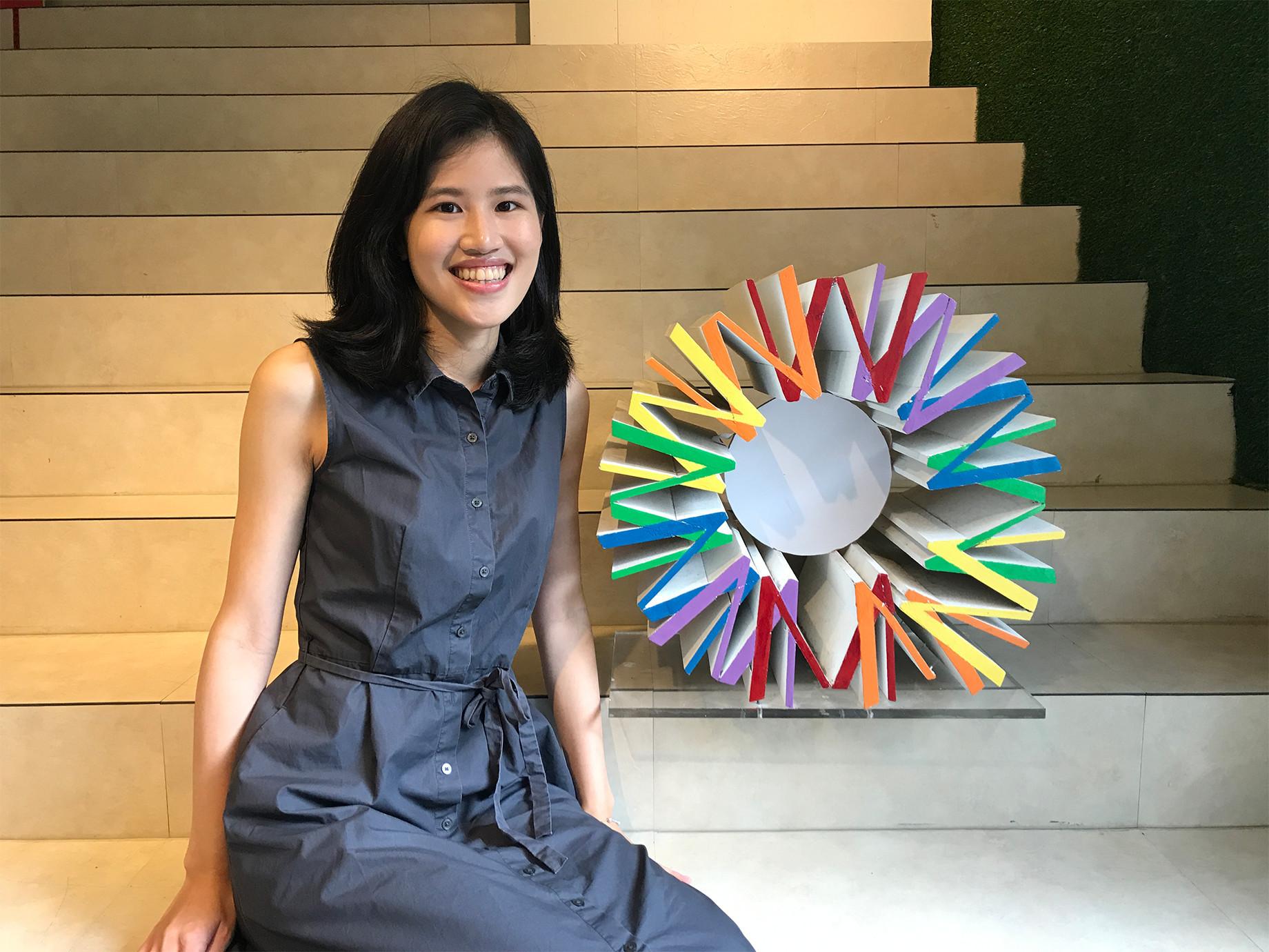 工作分享》陳姿廷(女人迷多一點實驗室管理師):目標越大,越要從最小可行性一步步前進