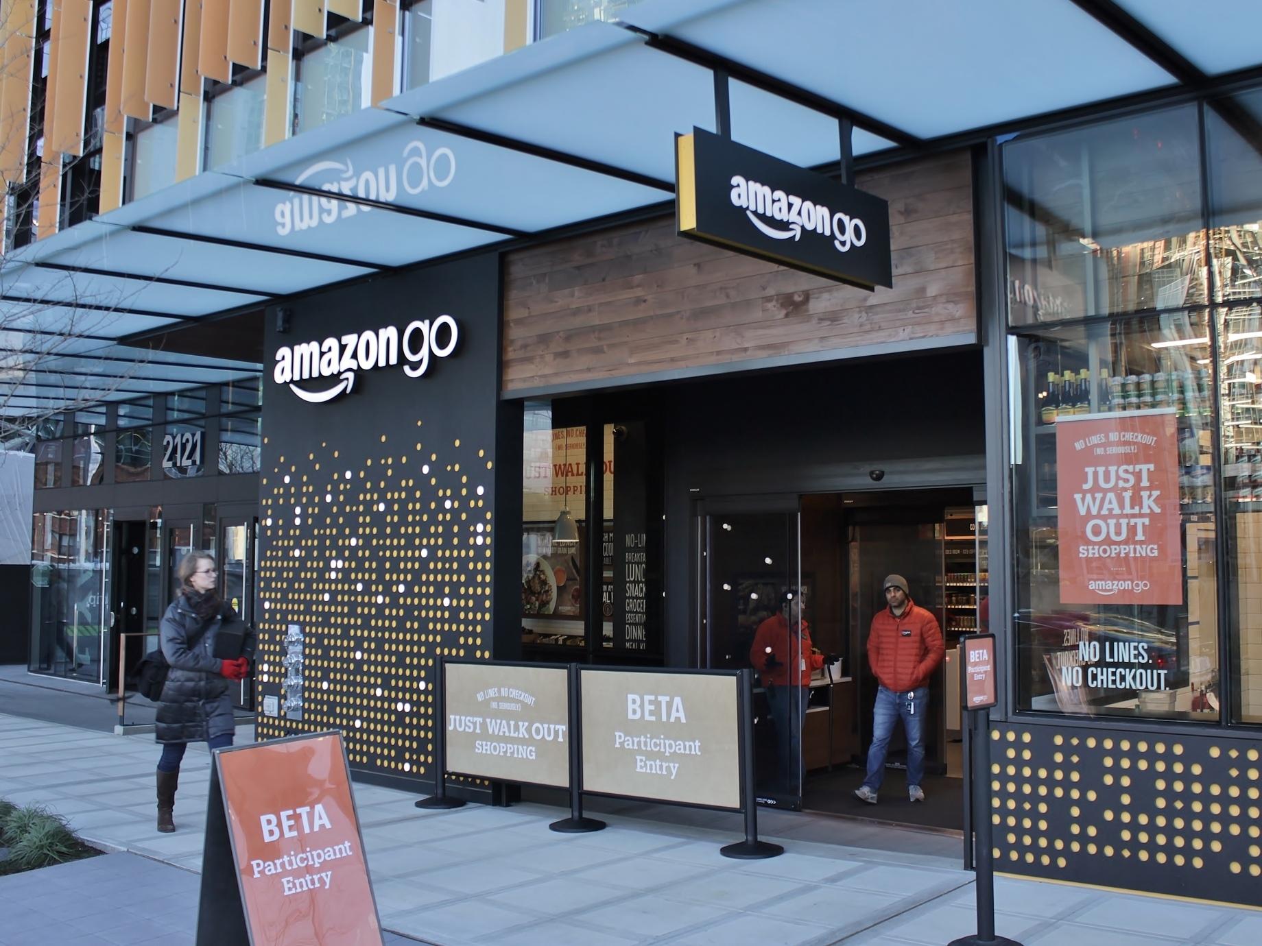 不用排隊等結帳!亞馬遜無人商店Amazon Go正式開張