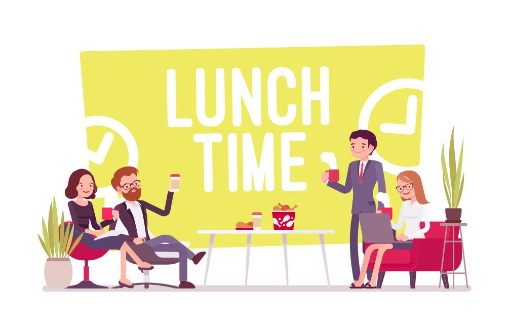 職場小細節:午餐時間,除了埋頭吃飯還有更重要的事!