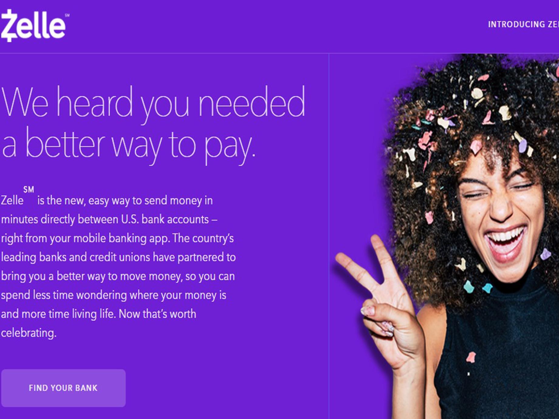 Apple Pay、PayPal強勁對手!美國30家大銀行共推的P2P支付服務:Zelle來了