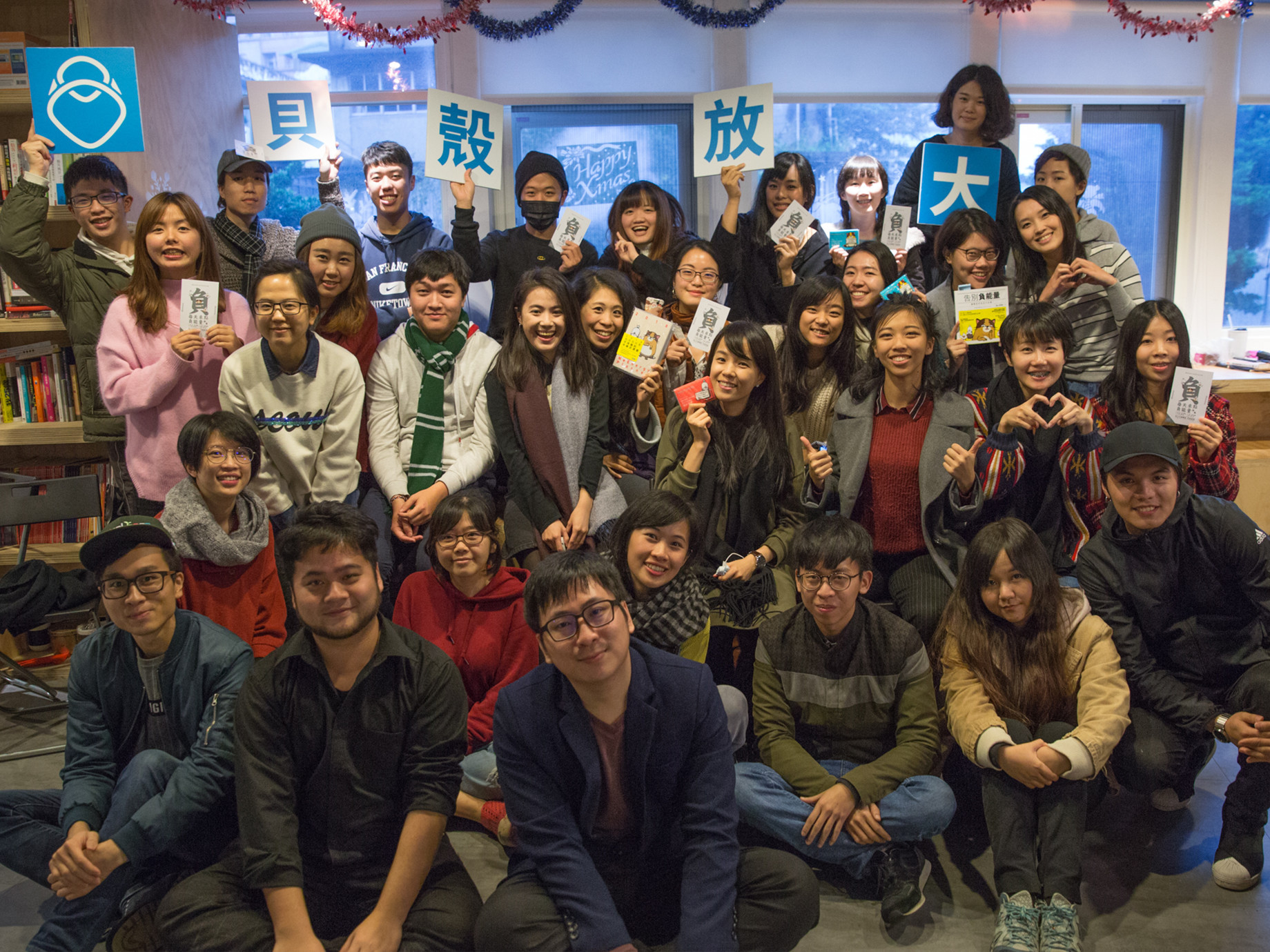台灣自媒體協會企業報導》做貝殼放大的知識後盾,群眾觀點3步經營
